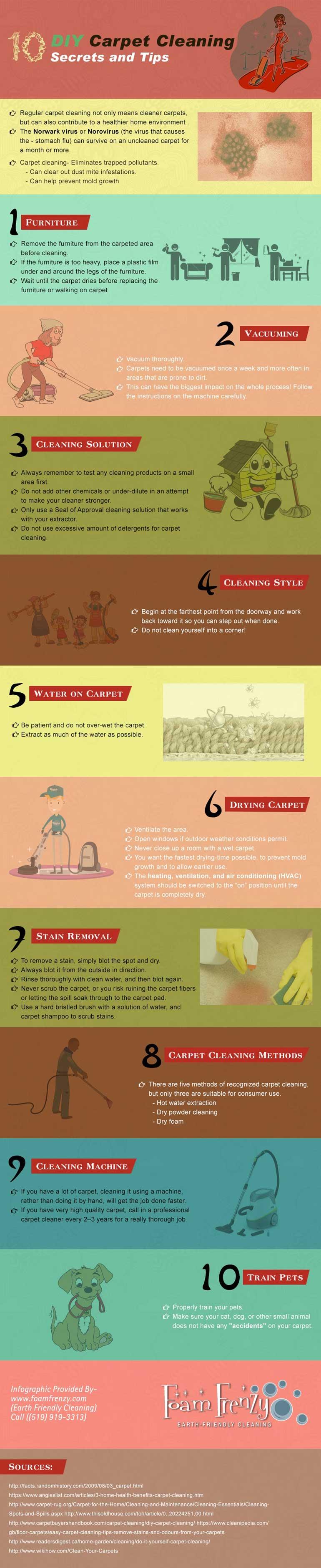 Diy Carpet Cleaning Tips